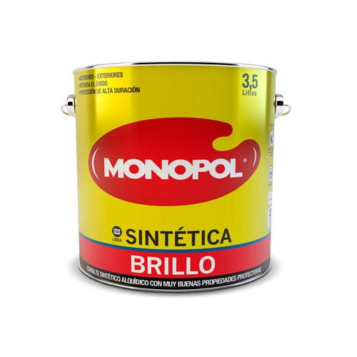 Pinturas monopol pintura sint tica brillo - Pintura de resina ...