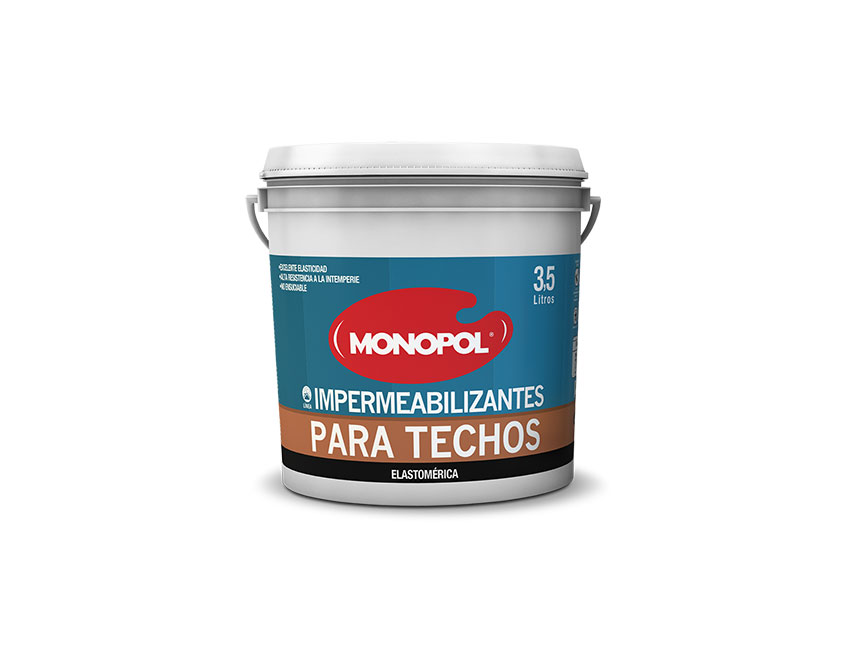 pinturas monopol impermeabilizantes para techos