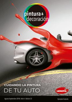Cuidando la pintura de tu auto