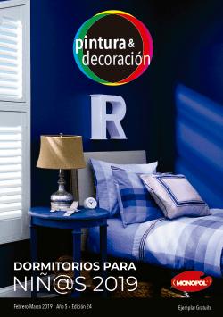 Dormitorios para niñ@s 2019