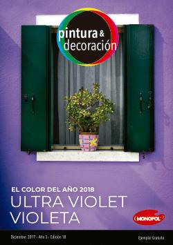El color del año 2018 Ultra Violet Violeta